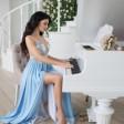 Romantic Piano with Beach Sound 02