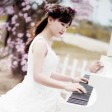 Romantic Piano with Beach Sound 01